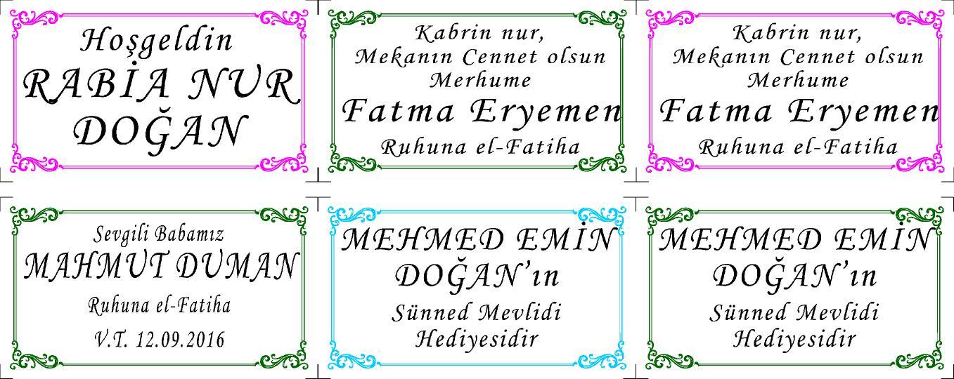 isimli yasin kitabý etiketi www.hesaplikitap.com