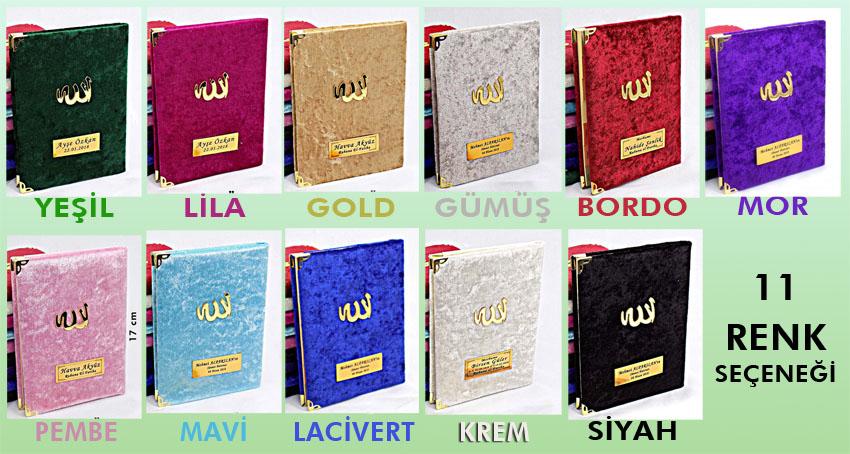 Kadife Yasin Kitabi Renkleri