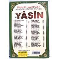41 Yasin i Þerif Rahle Boy Elmalý Hamdi Yazýr 24X29 cm 144 sayfa