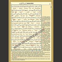 Rahle Boy Renkli Tecvidli Kur an-ý Kerim 4 özellikli Kuran Hediyeli Dini Bilgiler Seti
