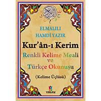 Kuran ý Kerim Renkli Kelime Mealli ve Türkçe Okunuþlu, Orta Boy