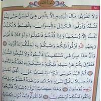 30 Cüz Çanta Kur an-ý Kerim, Bilgisayar hatlý Çanta boy 13x18 cm
