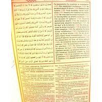 Kur'an-ı Kerim ve Yüce Meali Türkçe okunuşlu-Üçlü- Orta boy