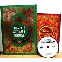 Tecvid Okulu Seti/ Tecvidli Kur'an-ý Kerim / Rahle boy/ 624 sf 20x28cm