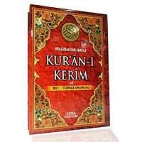 2 li Kuraný Kerim Türkçe okunuþlu ORTA BOY