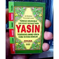 Mini Cep Yasin i Þerif Elmalý Hamdi Yazýr Mealli/ Türkçe Okunuþlu 6,5x10cm 128 Sf.