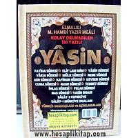 Lüks Sert Kapak 41 Yasin i Þerif Çanta Boy 13x17 cm 128 sf. Elmalý Hamdi Yazýr Mealli