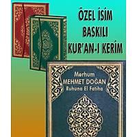 isim Baskýlý Kuran Diyanet Mühürlü ENAZ 50 ad.