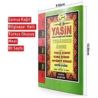 Cep Boy Yasin Kitabý 9x13 cm 80 sayfa