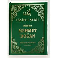 isim Baskýlý Yasin kitabý Sert Kapak suni deri Ciltli Çanta Boy 13X17 cm 30 ad.