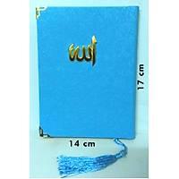 Sert Kapak Allah Lafýzlý Püsküllü Yasin Kitabý Çanta boy 13x17cm