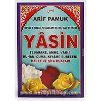 Yasin Kitabý Devlet Duasý, Selam Ayetleri, Bal Tefsiri Orta Boy 16x24 cm 64 sf