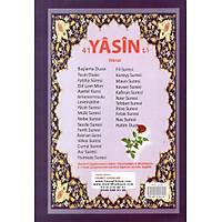 Cennet Yayýnlarý Ekonomik Orta Boy 41 Yasin-i Þerif/ Elmalýlý M. Hamdi Yazýýr Türkçe okunuþlu 72 sf. 16x24 cm