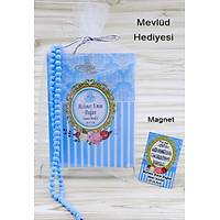 Çanta Boy Mavi Yasin Kitabý Tül Magnet