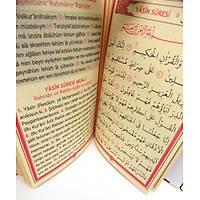 Kapaklý Yasin kitabý KAPSAMLI Allah Lafýzlý isimli