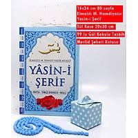 4lü Mevlüt Seti Yasin Kitabý þekr kutusu Tül Tespih