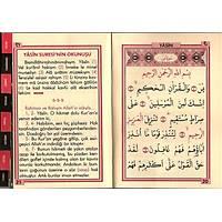 Kadife Yasin Kitabı isimli ve isimli inci tesbihli