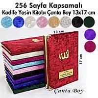 Þeffaf Kutulu KAPSAMLI Kadife Yasin kitabý 216 sayfa Tesbih
