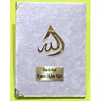 Kadife Yasin kitabý Damla Allah Lafýzlý Çanta Boy 12x17 cm 128 sf.