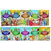 Güzel Ahlak Hikayeleri 10 Kitap Renkli