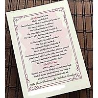 Kiþiye Özel isim baskýlý Yasin kitabý Çanta Boy 128 sayfa 12x16 cm