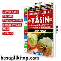 41 Yasin Kitabý, Elmalý Hamdi Yazýr Mealli, ORTA BOY 64 sf. 16x24cm