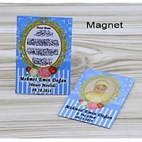 Çanta Boy Yasin Kitabý 64 sayfa 12x16cm Tül Kese Magnet