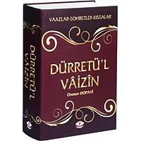 Dürretül Vaizin Vaazlar - Sohbetler - Kýssalar Osman Hopavi (Ciltli)
