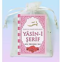 Mevlüt hediyesi Yasin Kitabý Orta Boy 80 Sayfa 16x24 cm Tül Kese