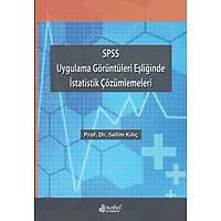SPSS Uygulama Görüntüleri Eþliðinde Ýstatistik Çözümlemeleri