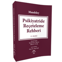 Maudsley Psikiyatride Reçeteleme Rehberi 13 baský