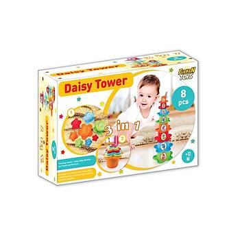 Furkan Toys 3 Ýn 1 Papatya Kule