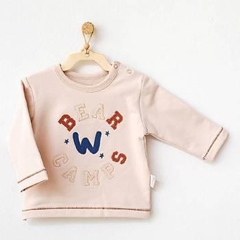 Andy Wawa Sweatshirt Bear Camp Bej