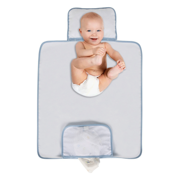 Sevi Bebe Cepli Alt Açma Minderi Mavi