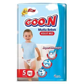 Goon Mutlu Bebek Külot Bebek Bezi 5 Beden 12-17 Kg 30lu Jumbo Paket
