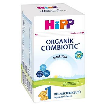 Hipp 1 Organik Combiotic Devam Sütü 800 gr