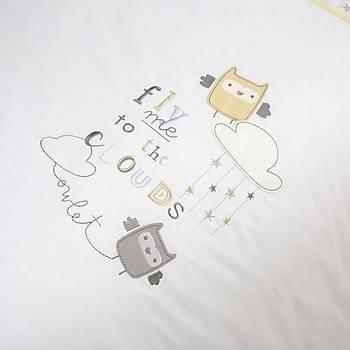 Funna Baby Joy Uyku Seti Owlet 80x130