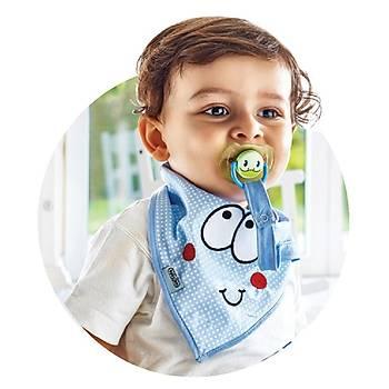 Baby Jem Fular Önlük Emzik Tutacaklý