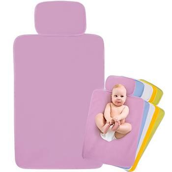 Sevi Bebe Alt Açma Minderi Pratik Pembe
