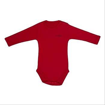 Bebepan Body Uzun Kol Kýrmýzý  18-24Ay