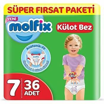 Molfix Külot Bebek Bezi 7 Beden XXLarge 36lý Süper Fýrsat Paketi