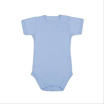 Bebepan Body Kýsa Kol Mavi  30-36Ay
