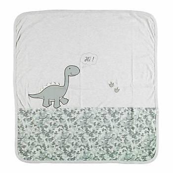 Bibaby Battaniye Bimini Dinosaur Gri