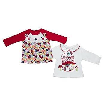 Bebepan 2li Sweatshirt Her Cat Orjinal Renk Orijinal Renk 6-9 Ay