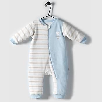 Bebetto Uyku Tulumu Penye Baby Bear Mavi  18-24Ay