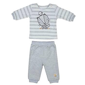 Bebepan 2li Takým Mr.Nature Ringel Orjinal Renk  3-6 Ay