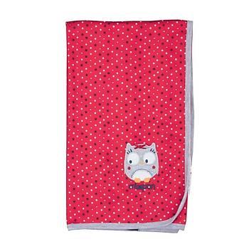 Bebepan Battaniye Mr.Owl K.Beyaz Puantiyeli