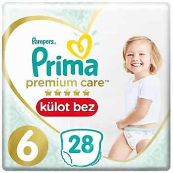 Prima Premium Care Külot Bebek Bezi 6 Beden Large 15+Kg 28li
