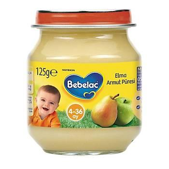 Bebelac Kavanoz Mamalarý Elma Armut Püresi 125 gr