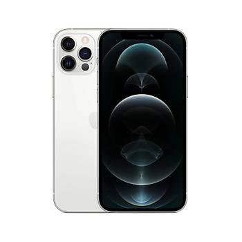 iPhone 12 Pro Max 128GB Gümüþ Cep Telefonu (Apple Türkiye Garantili) Aksesuarsýz Kutu
